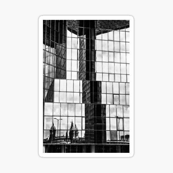 London Reflection Sticker