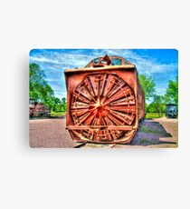 Wisconsin Snowblower Canvas Print