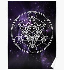 Metatron's Cube Poster