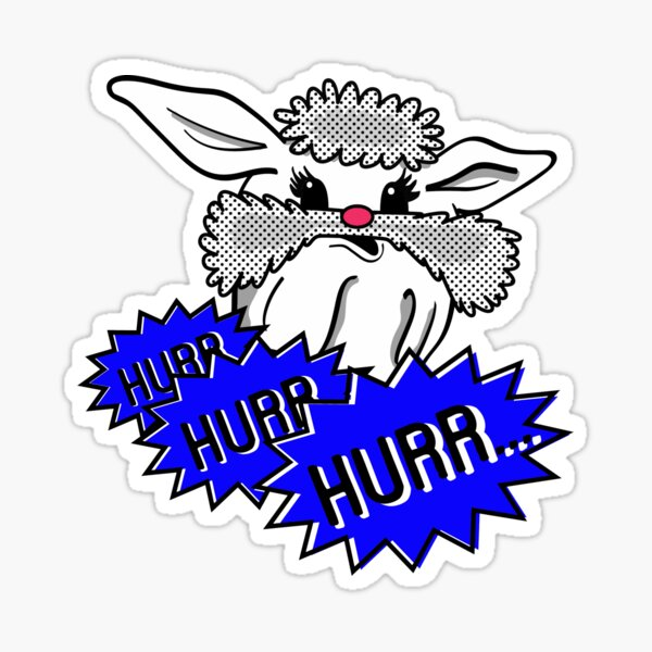 Ice Cream Bunny Sticker