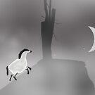 Pregnant Horse on the Mountain by Simo Sakari Aaltonen