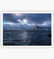 Kolgrafafjordur, Grundarfjordur, Snaefellsnes, Island Sticker