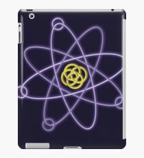 Gold - Silver Atomic Structure iPad Case/Skin