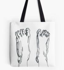 Happy feet Tote Bag