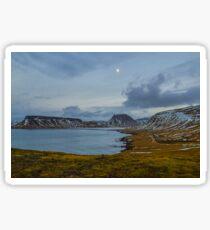 Bulandsgil, Grundarfjordur, Snaefellsnes, Island Sticker