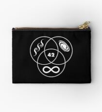 Hitchhikers Guide To The Galaxy 42 Zipper Pouch