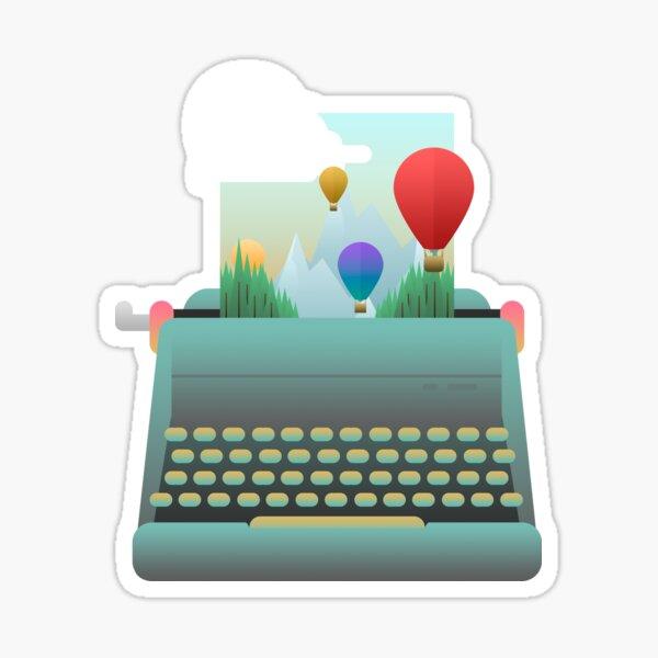 Escribe tu historia Pegatina