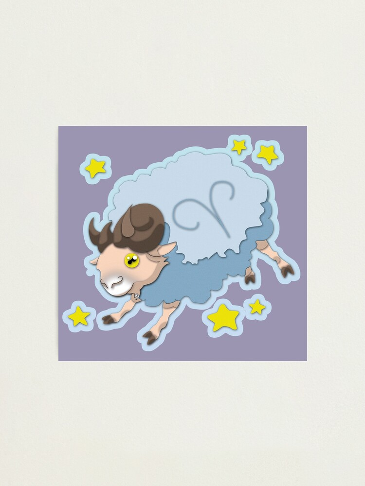 Alternate view of Aries Zodiac Sign Photographic Print