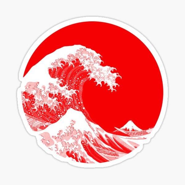 Hokusai, grande vague de Kanagawa Sticker