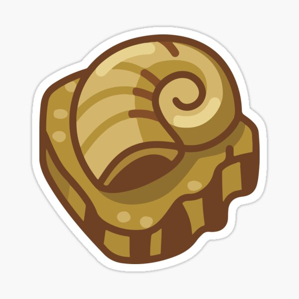 Almighty Helix Fossil Sticker