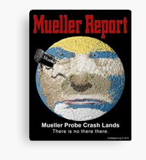 The Mueller Report Canvas Print