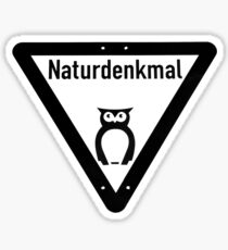 naturdenkmal Sticker