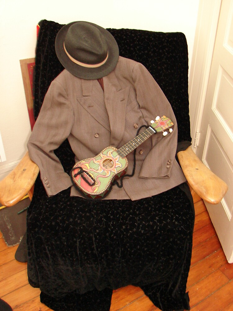 Jacket, Hat & Ukulele by Honario