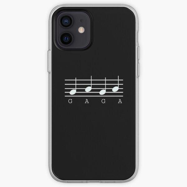 GAGA music notes iPhone Soft Case