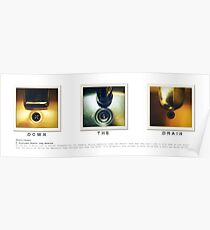 Drains - Triptych Poster