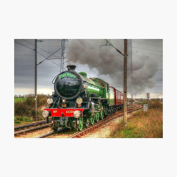 Mayflower Steam Train 1950s Photographic Print