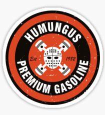 Humungus Premium Gasoline Sticker