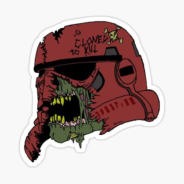 inspiré du livre Death Troopers de Joe Schreiber. Sticker