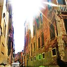 gondola ride and sun flare by xxnatbxx