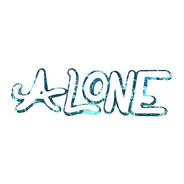 Copy of Alone Typography by warddt
