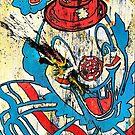 Sledgehammer Face Clown #20 by Chris Crewe