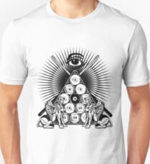 The Pool Gods See All Unisex T-Shirt