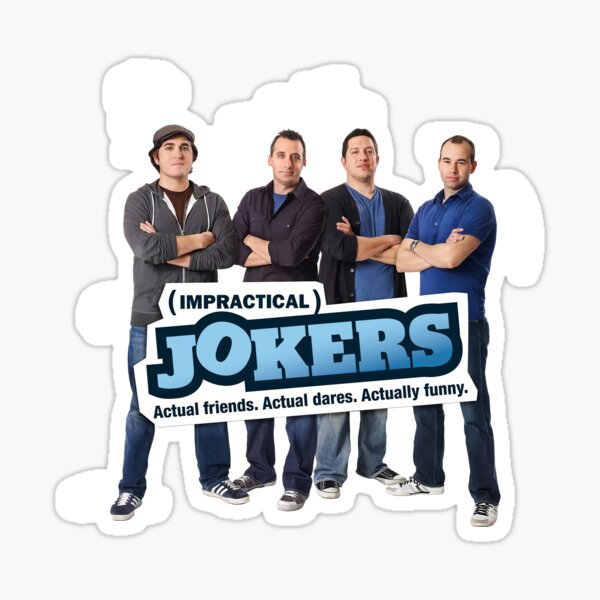 Jokers Show Sticker