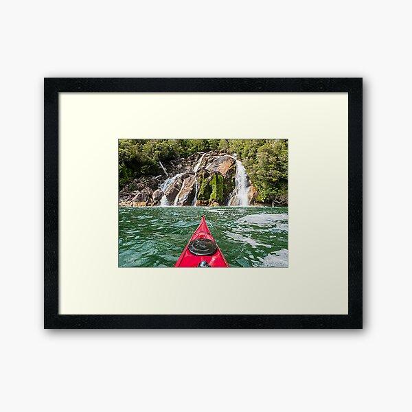 Patagonia Paradise Framed Art Print