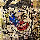 Sledgehammer Face Clown 18 by Chris Crewe