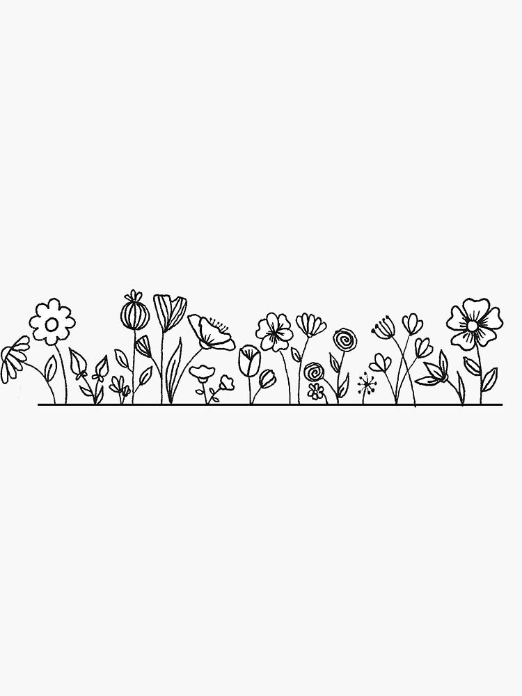 Flower strip by brielleg