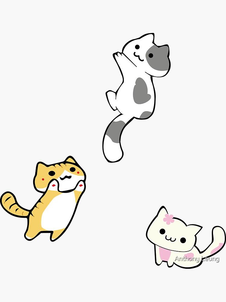 Mini Neko's (kittens) by sushirocksbaby