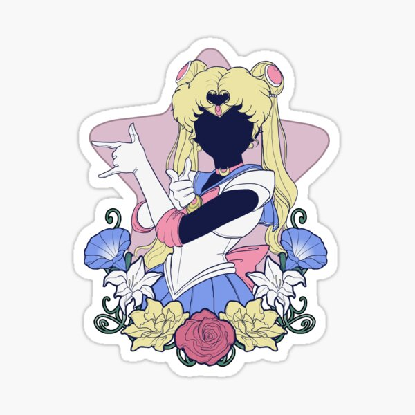 Sailor De La Lune Sticker