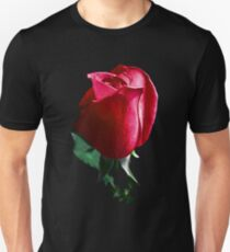 Rose Red. Unisex T-Shirt