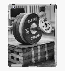 Gewichtheben iPad-Hülle & Klebefolie