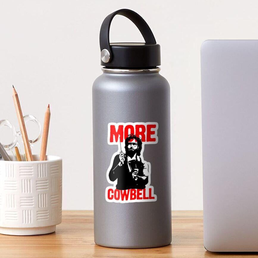 More Cowbell T-Shirt Sticker