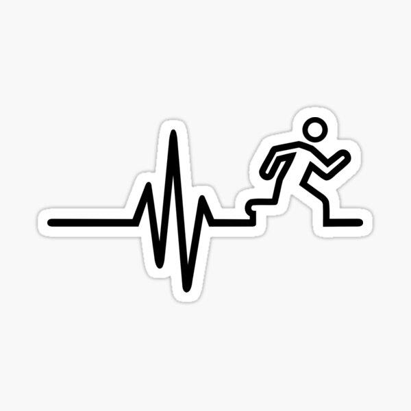 Runner frequency Sticker