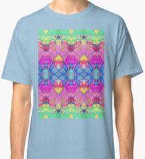 Fractal Geometric Flowers Classic T-Shirt