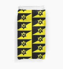 Jewish AnCap Flag Duvet Cover