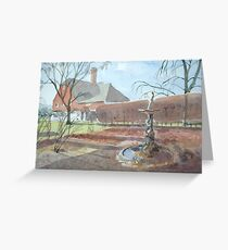 Abbeylands by Nick Clark Greeting Card