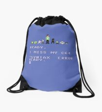 I miss my Commodore 64 Drawstring Bag