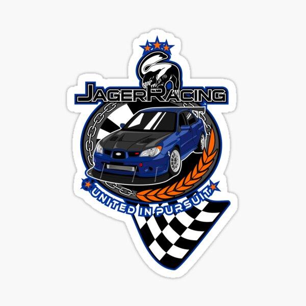 Jager Racing Devious Badger Sticker