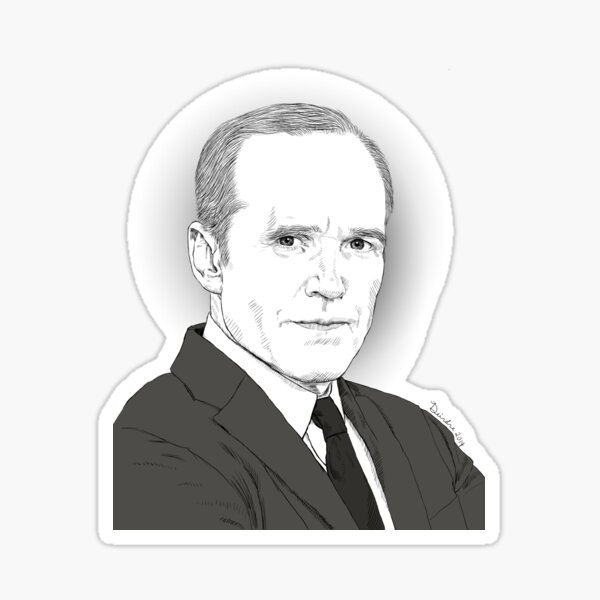 Agent Coulson Sticker