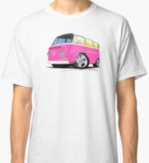 VW Bay Window Camper Van A Pink Classic T-Shirt