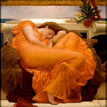 Flaming June Frederic Leighton Restored by historicalstuff