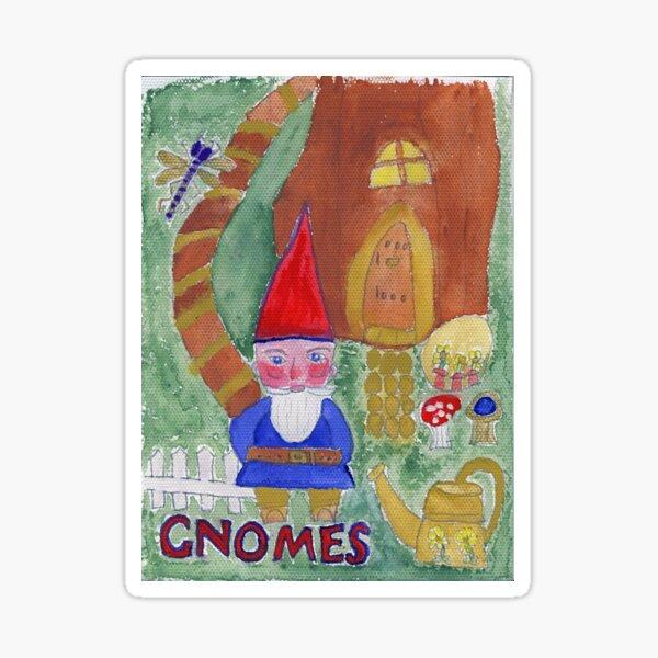 Gnomes Sticker