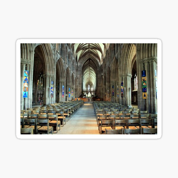 Lichfield Cathedral, The Nave Sticker