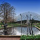 Reflecting Pool and Statues by barnsis