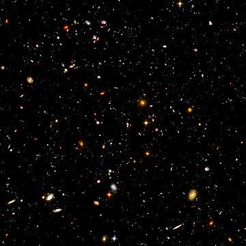 Hubble Ultra Deep Field by historicalstuff