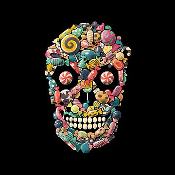 Cráneo de caramelo de tobiasfonseca