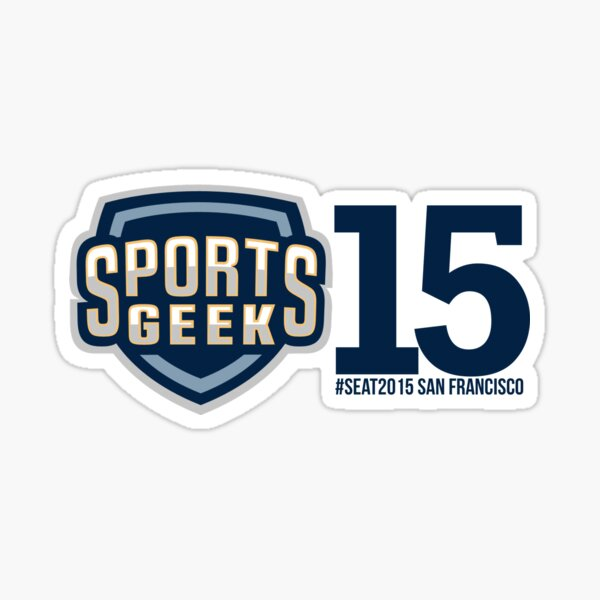 Sports Geek #SEAT2015 San Francisco Sticker